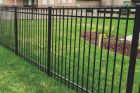 Ornamental fences come look like wrought iron and can be installed with different types of metal such as aluminum or steel. Ornamental is a great choice to add value to your home and is very durable.